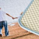 retro tappetino da bagno personalizzato