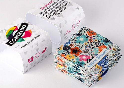 Campionario di tessuti personalizzabili
