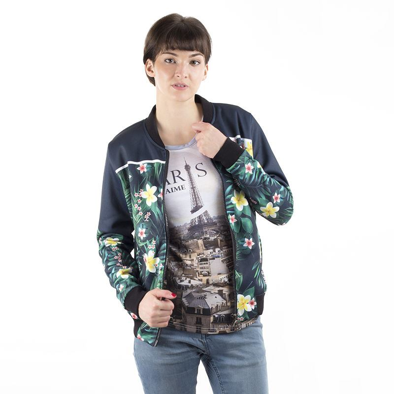 Printed Bomber Jacket Womens. Personalised Bomber Jacket UK