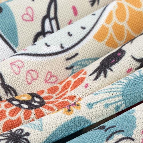 impresion textil tela pique estampada