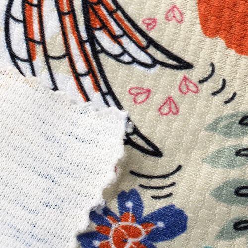 Impression sur tissu Jersey Chaine