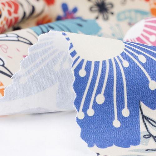 impresion en algodón satén patchwork