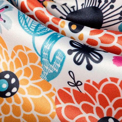 impresion textil en saten duquesa