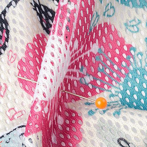 printing on mesh fabrics