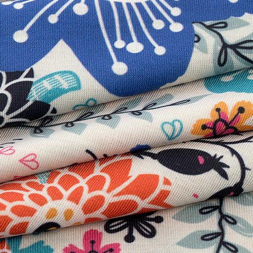 Tissu Jersey extensible medium