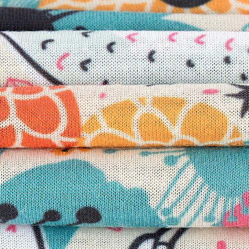 3.83oz Light Jersey Stretch knit fabric