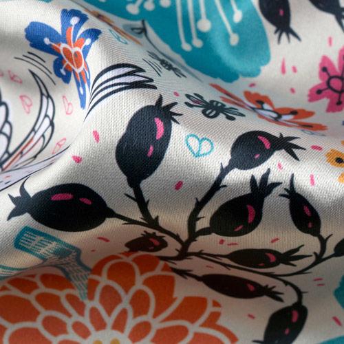 Lucent Satin lining fabric