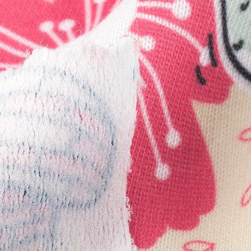 Tissu Jersey Bouclette grattée sur mesure