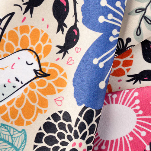 Polycotton dress fabric