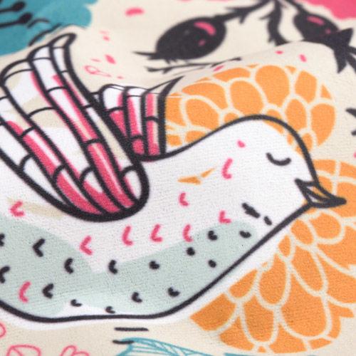 Custom drapery fabric