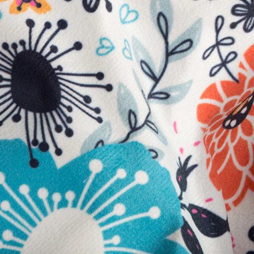 suede vision coat fabric