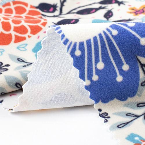 soft velvet fabric printing