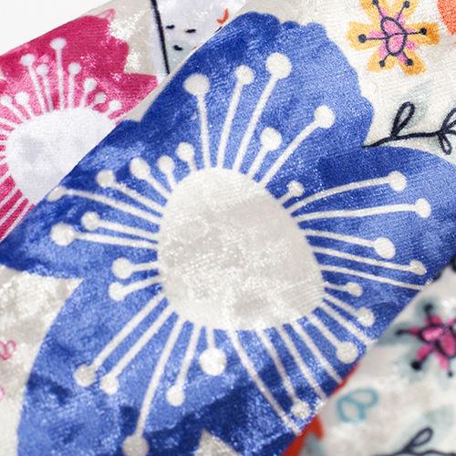 customised velvet fabric