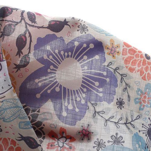Organic Cotton Fabric Breeze Slub Weave