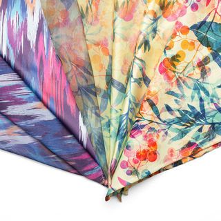 Silk and Natural fabric options