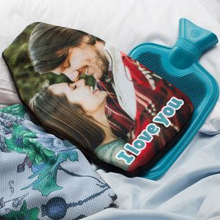 Photo Montage hot water bottle