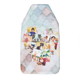 wärmflasche mit foto collage