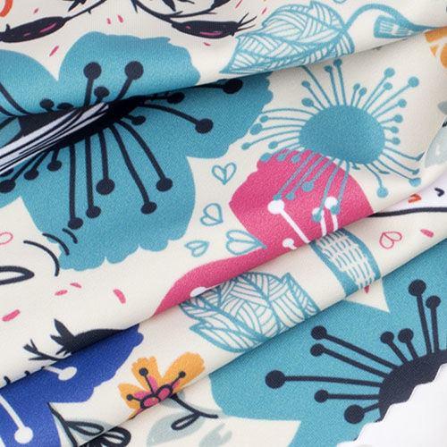 Impression sur tissu Lycra mat luxueux