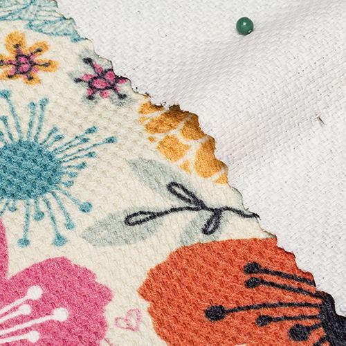 impresión en tela dobby algodón