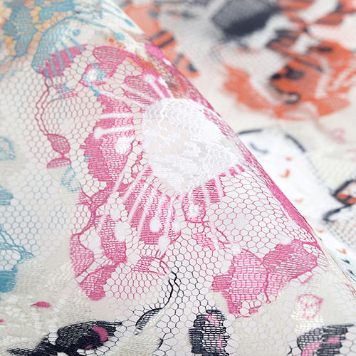 custom lace fabric printing