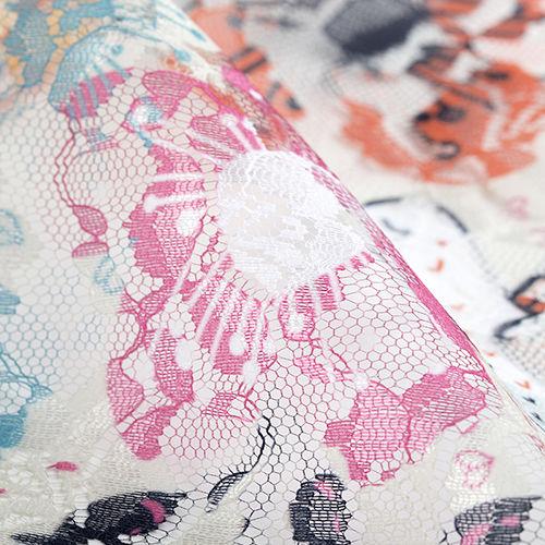 custom lace fabric printing