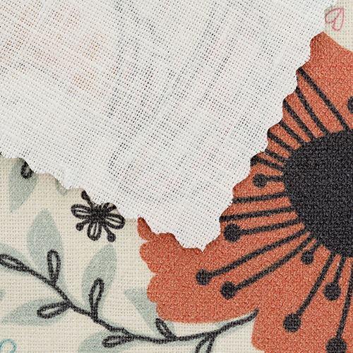 100% linen fabric printing