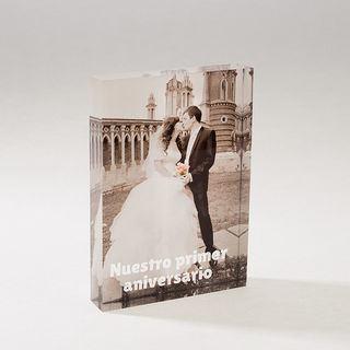 fotos en acrilico para boda
