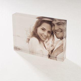 foto di coppia su acrilico