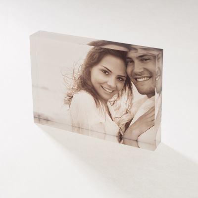 Photo sous verre