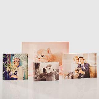 stampa foto su vetro acrilico