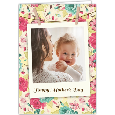 biglietto d'auguri personalizzato per la festa della mamma