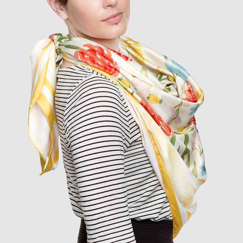 Pañuelos Personalizados | Diseña Pañuelos de Seda Online | Contrado