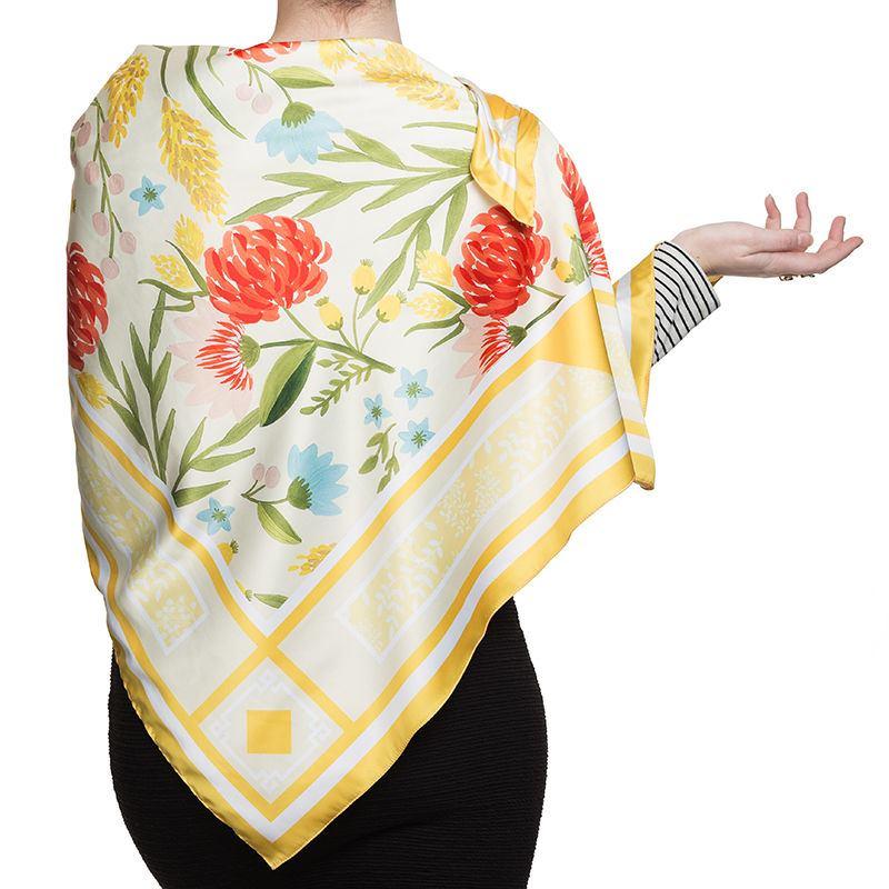 personalised scarf printed to order customised scarves