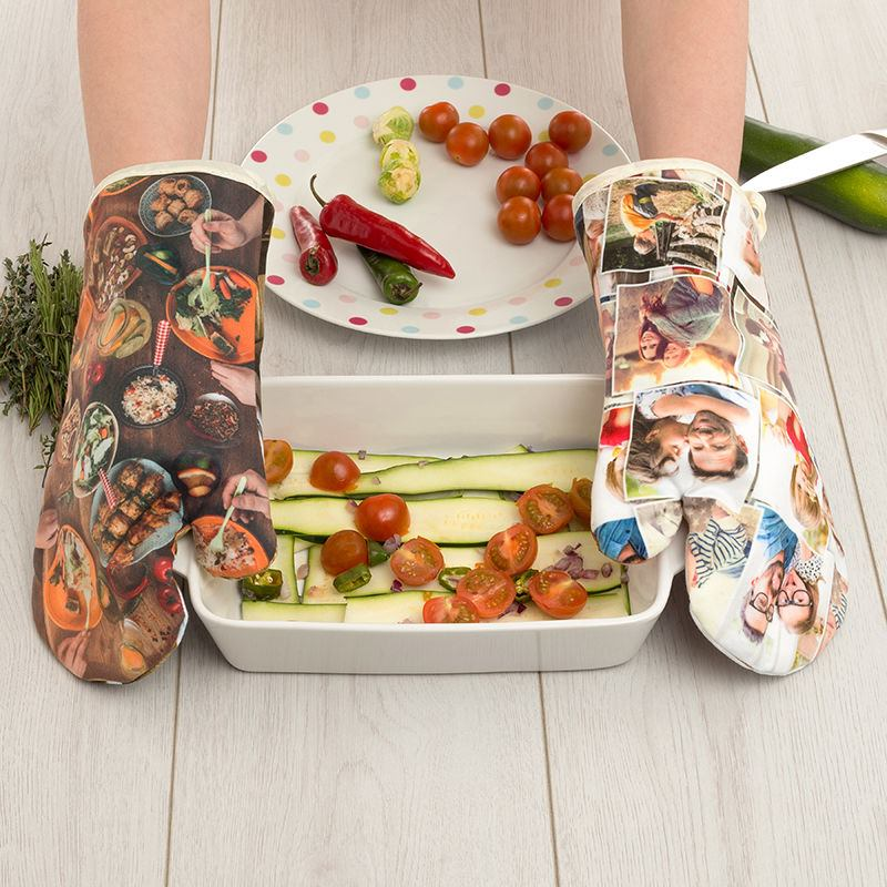 Personalised Oven glove photo collage