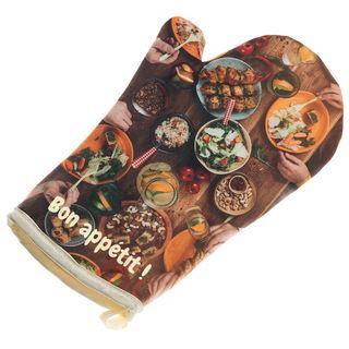 guantes de cocina personalizados diseño