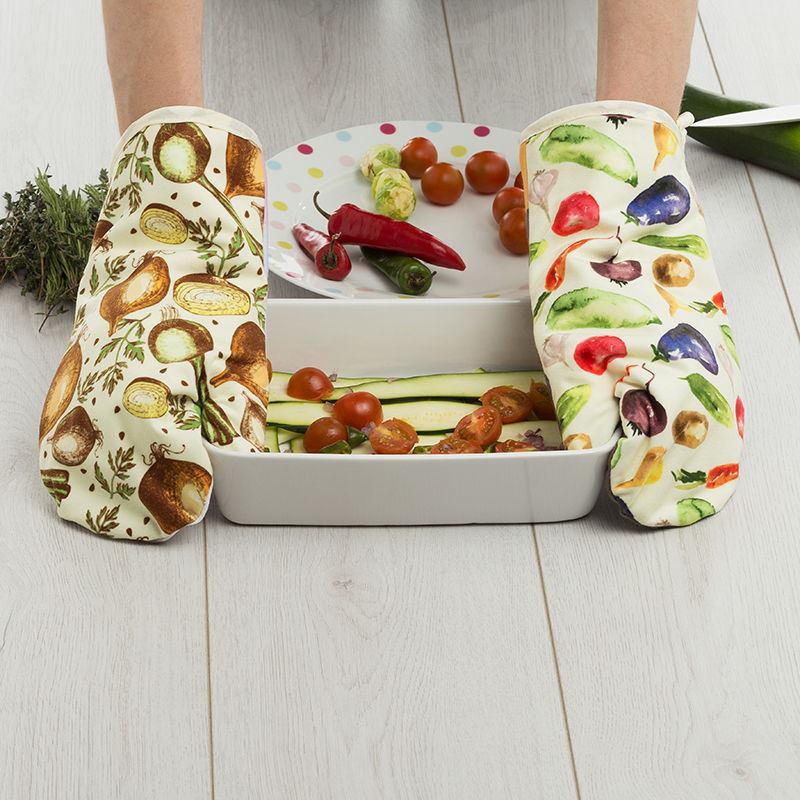 Guantes de cocina personalizados guantes de cocina con for Cocinar para 9 personas