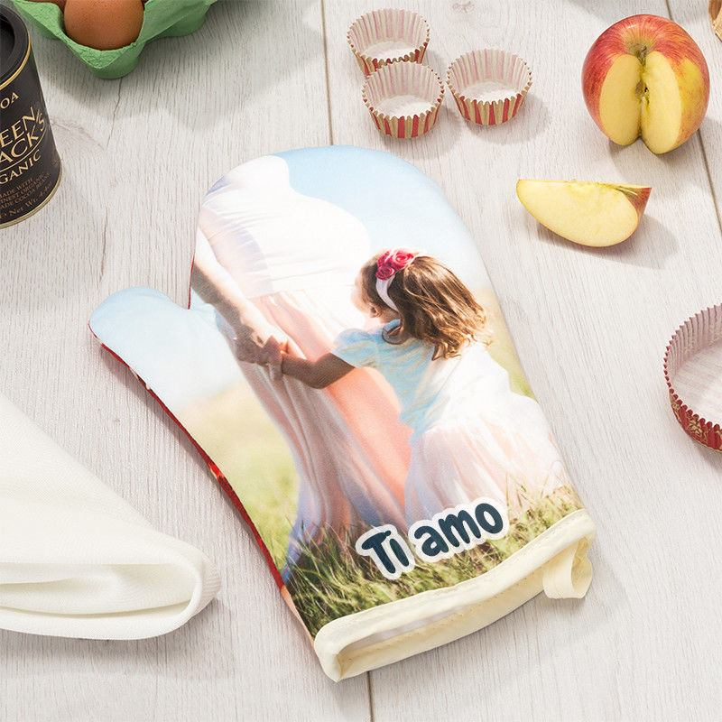 guanti da cucina personalizzati ti amo