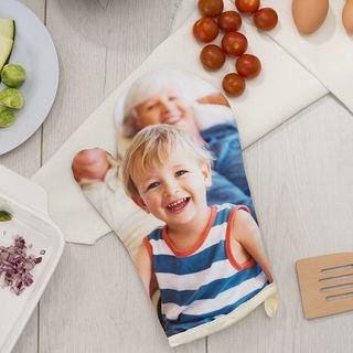 guanto da cucina personalizzato con foto bambino