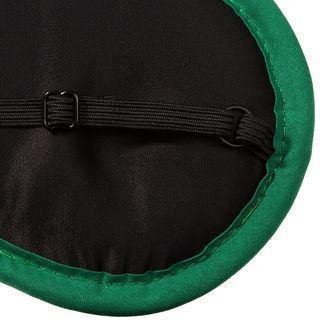 elastico nero mascherina per dormire