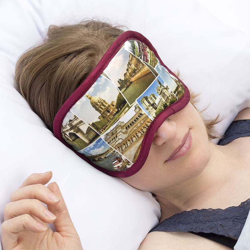 schlafmaske bedrucken schlafmaske selbst gestalten. Black Bedroom Furniture Sets. Home Design Ideas