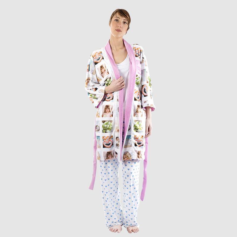 Custom Made Kimono Robe. Personalised Kimonos UK Made