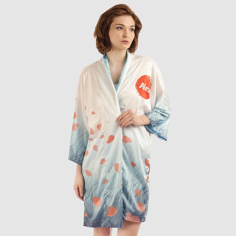 Personalised Kimono Dressing Gown | Custom Kimono