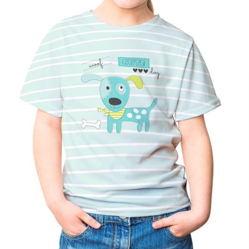 Personlig T shirt barn   T shirt med eget tryck för barn