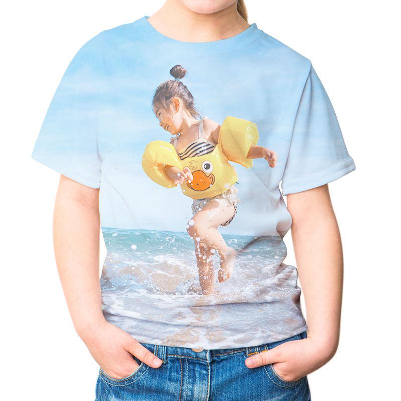 beliebt kaufen babd7 6fdb7 Kinder T Shirt mit Foto bedrucken | T-Shirts für Kinder ...