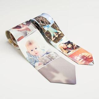 cravatte personalizzabili con foto