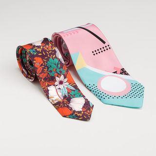 cravate personnalisée slim et classique