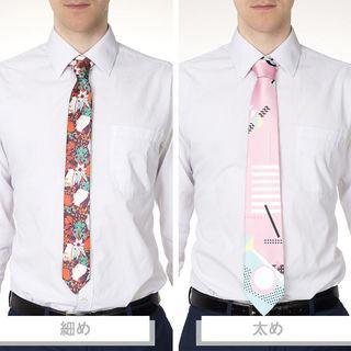 ネクタイ 印刷