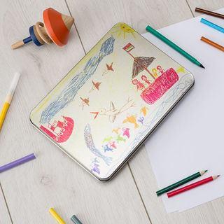 Children's drawing Pencil tin