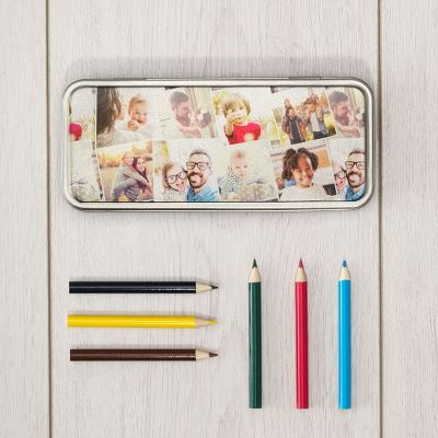Boîte à crayons personnalisée
