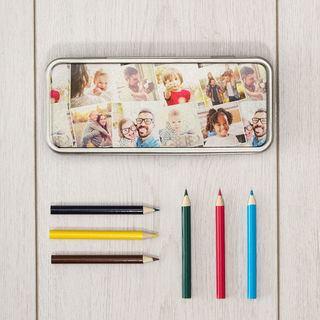 custom printed pencil tin